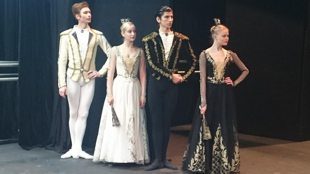 Артисты русского балета в иректске
