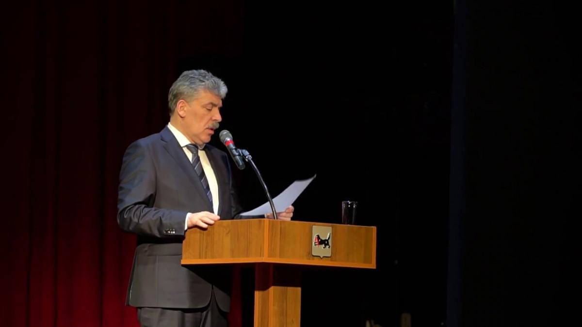 Кандидата в президенты России Павел Грудинин на встречи с иркутянами