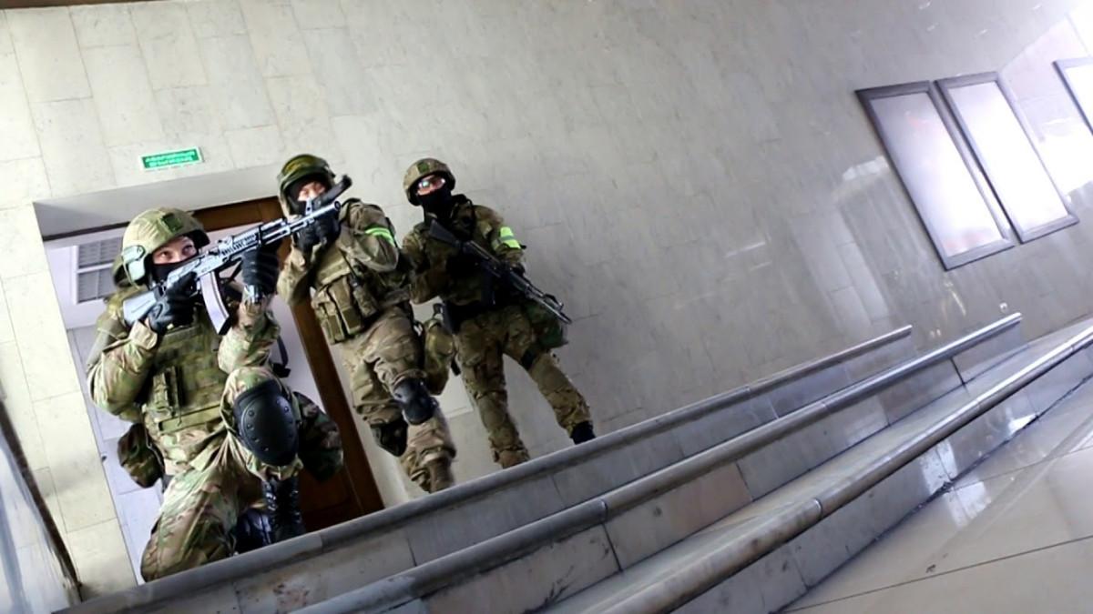 В Иркутском государственном музыкальном театре прошли антитеррористические учения