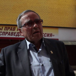 Встреча писателя Виталия Комина с Сергеем Мироновым