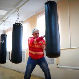 Зал бокса в Зиме построил предприниматель Шлыков Денис