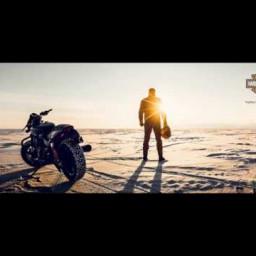 Байкал. Harley-Davidson ICE CHALLENGE. Александр Андреев.