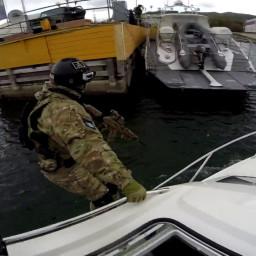 Штурм судна в бухте БПСО: в посёлке Никола отработан сценарий антитеррористического учения