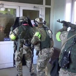 На территории Ново-Иркутской ТЭЦ прошло антитеррористическое учение